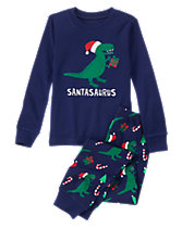 Santasaurus 2-Piece Gymmies®