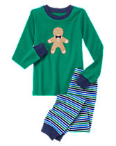 Gingerbread Boy 2-Piece Gymmies®