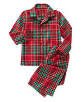 Plaid 2-Piece Pajamas