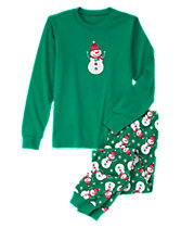Dad Snowman 2-Piece Pajamas