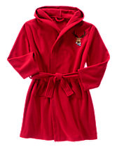 Fleece Reindeer Robe