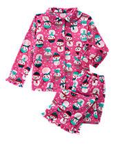 Snowgirl 2-Piece Pajamas