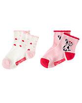 Dog & Heart Socks 2-Pack