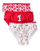 Puppy Love Underwear 3-Pack