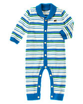 Striped Sweater One-Piece