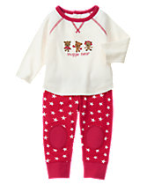 Snuggle Bear 2-Piece Set
