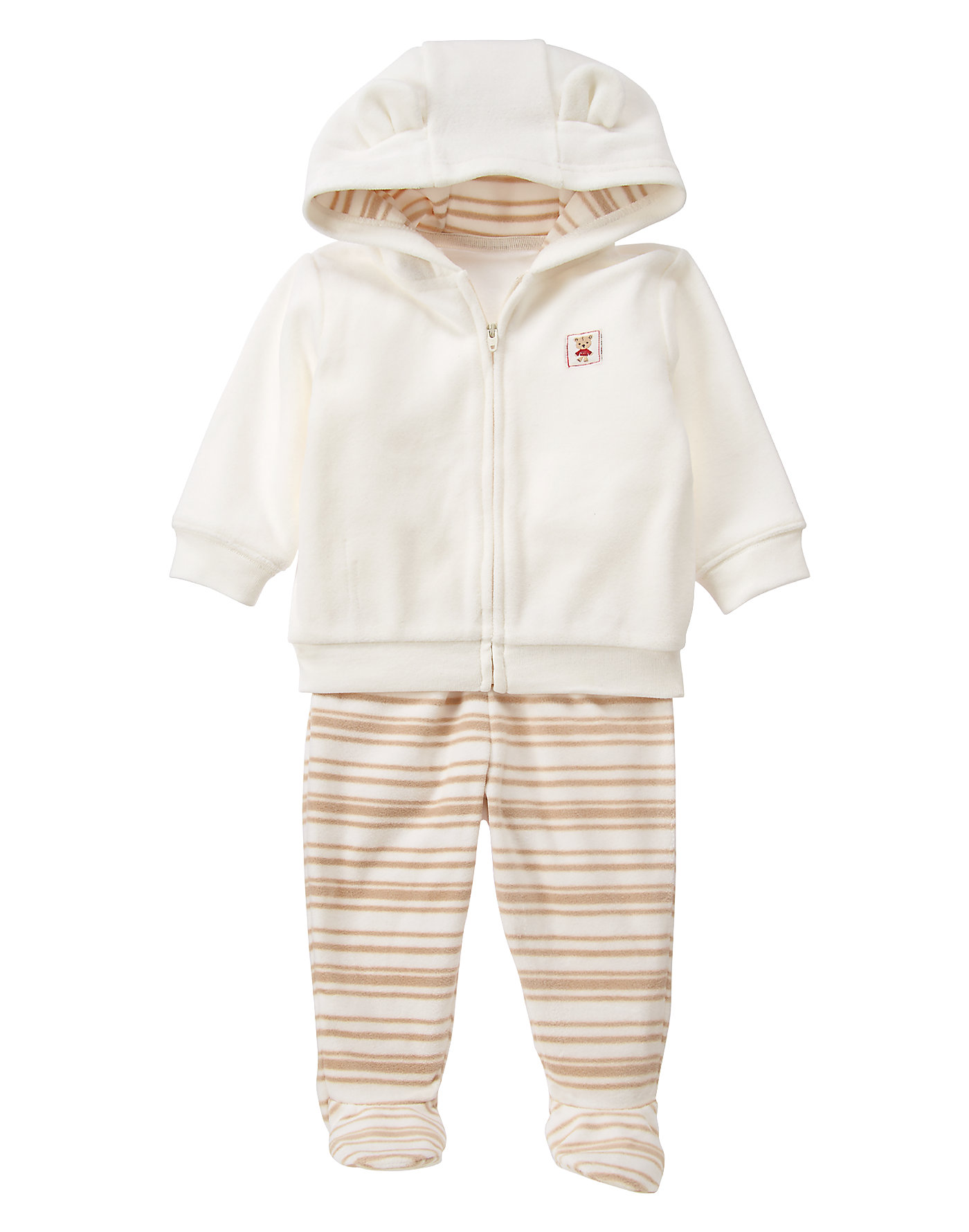 Fleece Hoodie 2-Piece Set