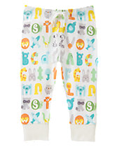 Alphabet Pull-On Pants