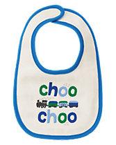 Choo Choo Reversible Bib