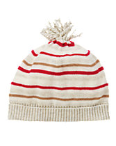 Striped Sweater Beanie