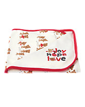 Joy Hope Love Reversible Blanket