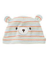 Striped Bear Beanie