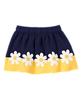 Daisy Colorblock Skirt