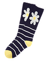 Daisy Knee Socks