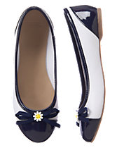 Daisy Bow Ballet Flats