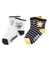 Daisy & Cat Socks 2-Pack