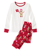 Cheerful Monkey 2-Piece Gymmies®