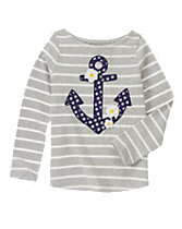 Anchor Daisy Tee