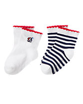 Nautical Socks 2-Pack