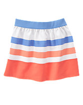 Ribbon Striped Skirt