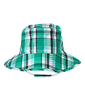 Plaid Sun Hat