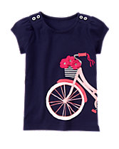 Bike Bouquet Tee