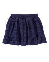 Swiss Dot Skirt