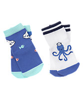 Sea Life Socks Two-Pack