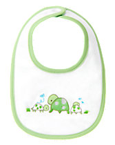 Turtle Reversible Bib