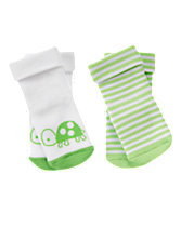 Turtle & Stripes Socks Two-Pack
