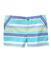 Multi-Striped Shorts