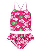 Fish 2-Piece Swimsuit