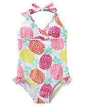 1-Piece Halter Swimsuit