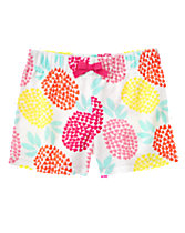 Pineapple Terry Shorts