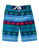 Crab Board Shorts