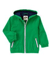 Hooded Windbreaker Jacket