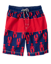 Dad Lobster Swim Shorts