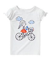 Bicycle Girl Tee