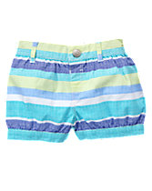 Striped Bubble Shorts