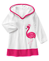 Flamingo Terry Cover-Up