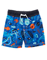 Sea Life Board Shorts