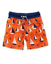 Sail Away Board Shorts