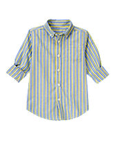 Chambray Stripe Shirt