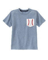 Baseball Pocket Tee