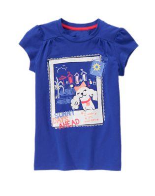 cute sunny shirt for girls