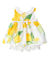 Lemon Print 2-Piece Set