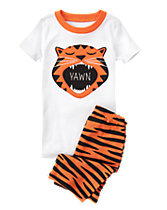 Yawning Tiger Two-Piece Gymmies®