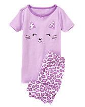 Leopard Shortie Two-Piece Gymmies®