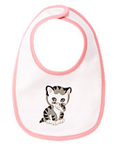 The Shy Little Kitten Reversible Bib