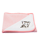 The Shy Little Kitten Reversible Blanket